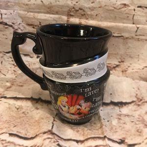 Disney Parks Alice in Wonderland Triple Stack Mug